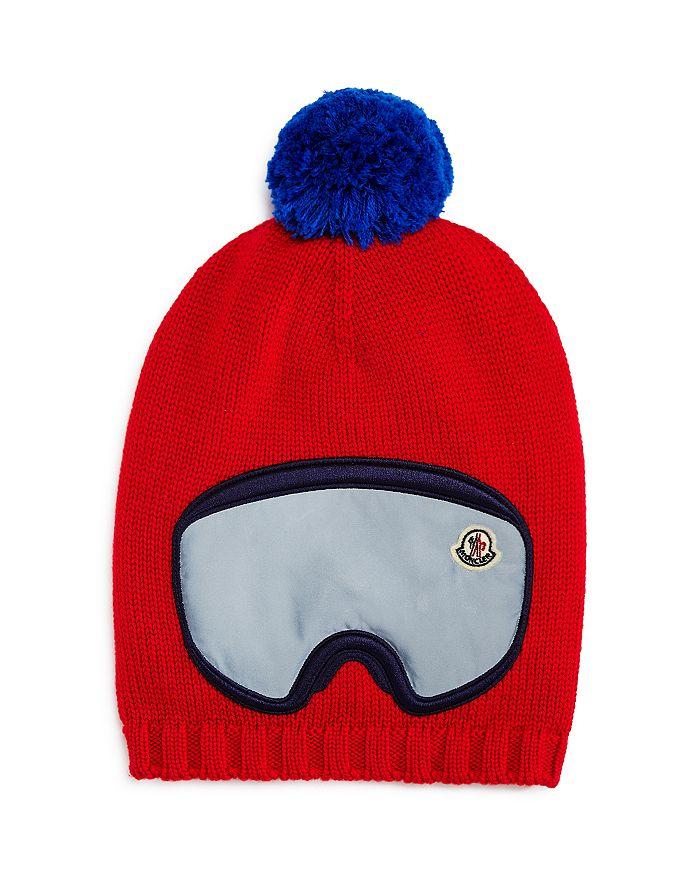 Moncler - Unisex Ski Goggles Hat - Big Kid