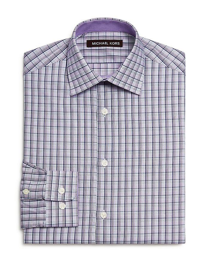 Michael Kors - Boys' Plaid Dress Shirt - Big Kid