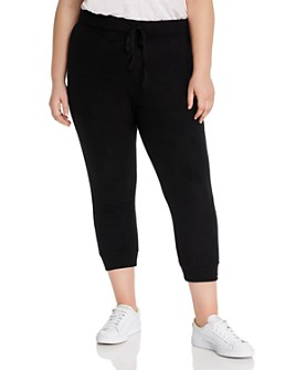 B Collection by Bobeau Curvy - Bower Cropped Jogger Pants