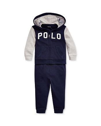 Ralph Lauren - Boys' Polo Hoodie & Pants Set - Baby