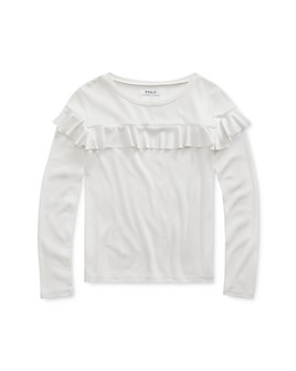 Ralph Lauren - Girls' Ruffled Top - Little Kid