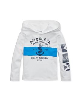 Ralph Lauren - Boys' Hooded Nautical Tee - Little Kid