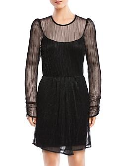 Bailey 44 - Hayley Metallic Cutout Dress