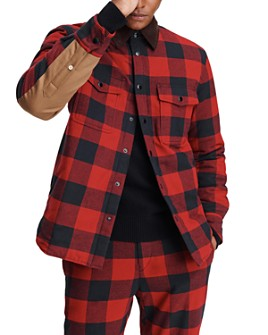 rag & bone - Check Regular Fit Shirt Jacket