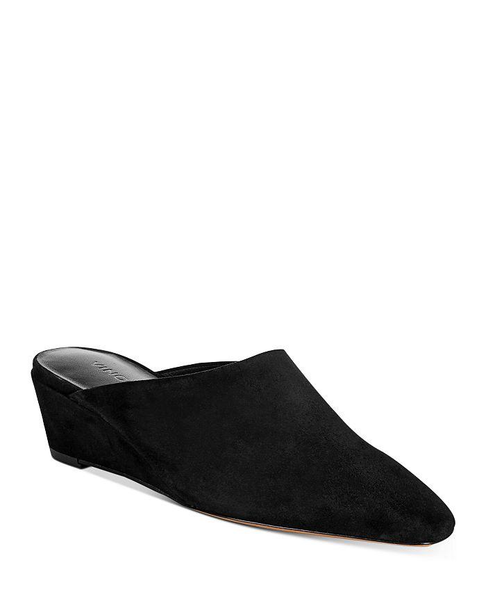 Vince - Women's Baxley Wedge Heel Mules