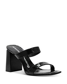 Alexander Wang - Women's Hayden Croc-Embossed Slide Sandals - 100% Exclusive