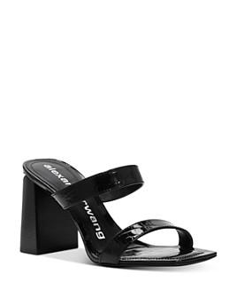 Alexander Wang - Women's Hayden Croc-Embossed Sandals - 100% Exclusive