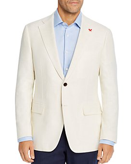 Cardinal Of Canada - Hopsack Weave Regular Fit Sport Coat - 100% Exclusive