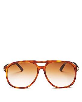 Tom Ford - Men's Raoul Brow Bar Aviator Sunglasses, 62mm