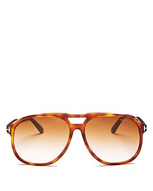Tom Ford Men\\\'s Raoul Brow Bar Aviator Sunglasses, 62mm-Jewelry & Accessories