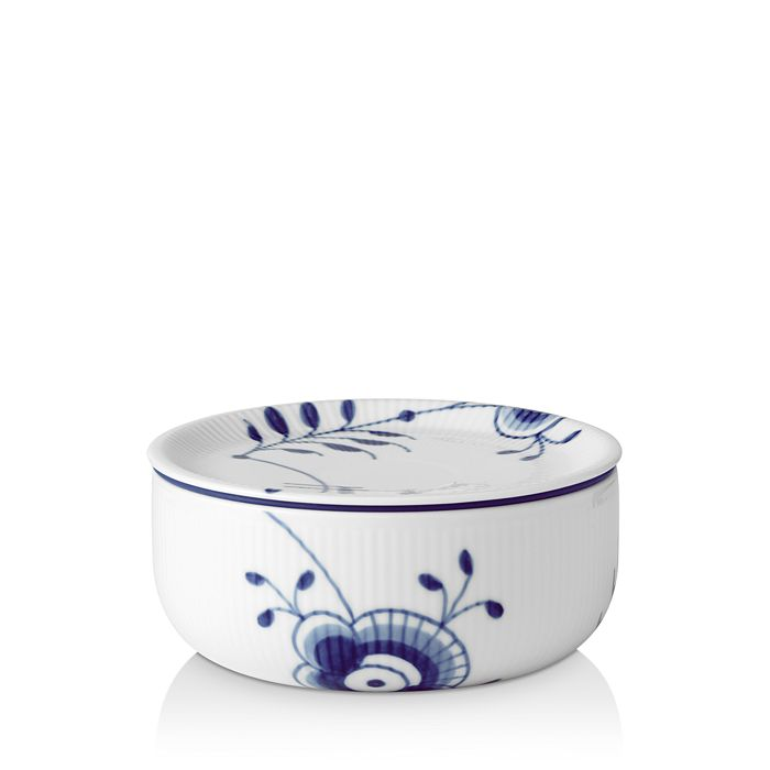 Royal Copenhagen - Blue Fluted Mega Lidded Bowl, 25 oz.