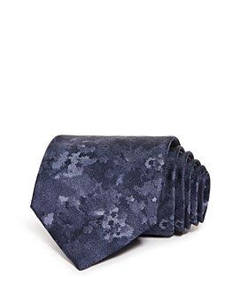 Armani - Watercolor Marble Silk Classic Tie