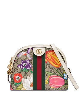 Gucci - Ophidia Small GG Flora Shoulder Bag