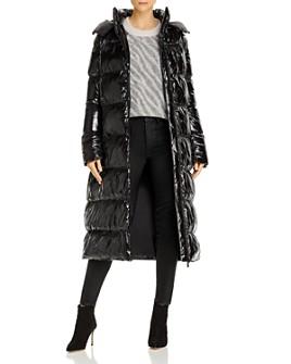 Anine Bing - Mary Shiny Longline Puffer Coat