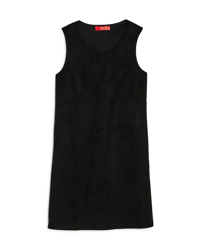 AQUA - Girls' Faux Suede Shift Dress, Big Kid - 100% Exclusive