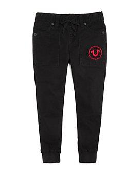 True Religion - Boys' Twill Jogger Pants - Little Kid, Big Kid