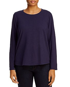 Eileen Fisher Plus - Organic Cotton Tee