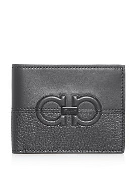 Salvatore Ferragamo - Firenze Contrasting Leather Bi-Fold Wallet