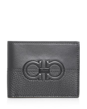 Salvatore Ferragamo - Firenze Contrasting Leather Bi-Fold Wallet
