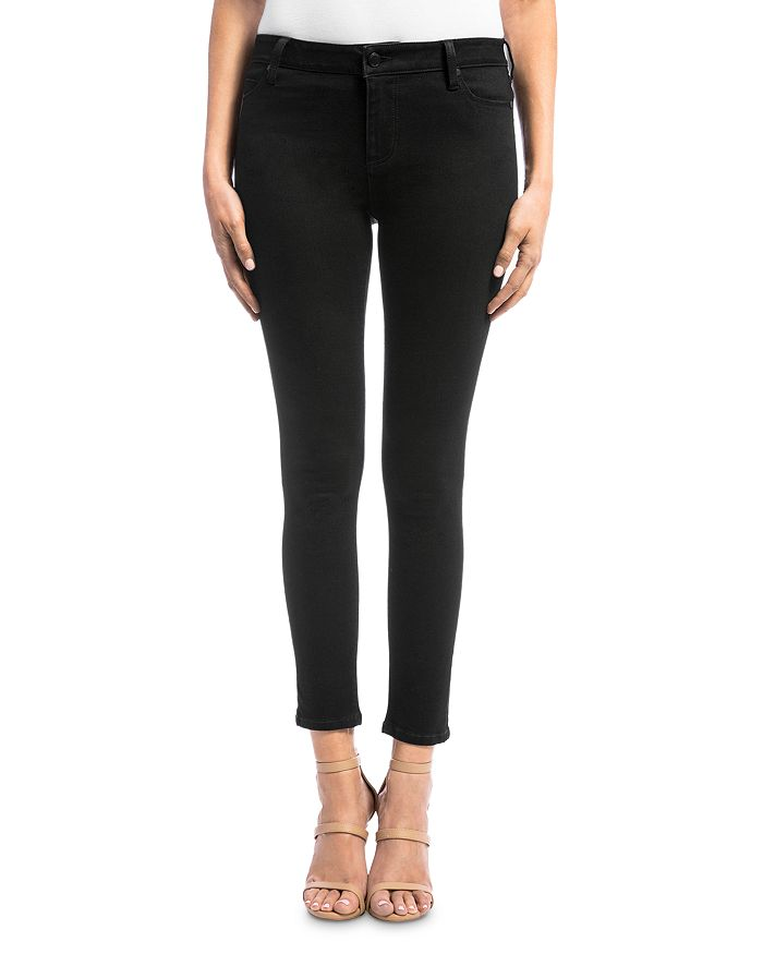Liverpool Los Angeles - Abby Skinny Jeans in Black Rinse