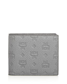 MCM - Monogram Embossed Leather Bi-Fold Wallet