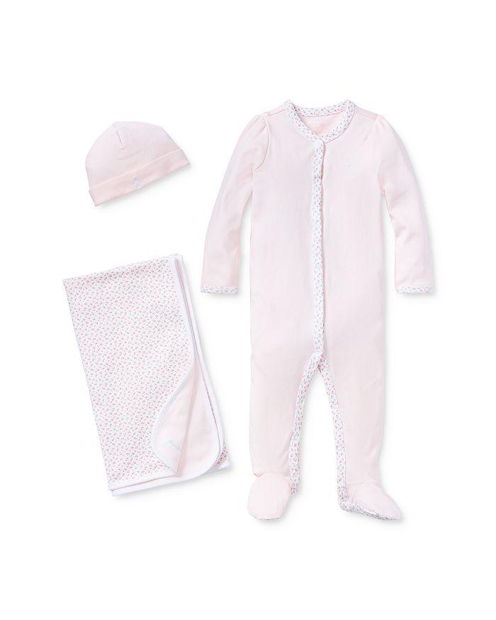 Ralph Lauren - Girls' Coming Up Roses Baby Bundle - Baby