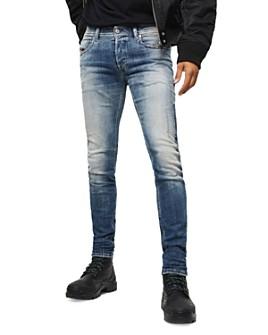 Diesel - Sleenker-X Slim Fit Jeans in Denim