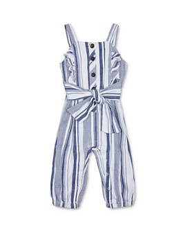 Habitual Kids - Girls' Palmer Striped Jumpsuit - Baby