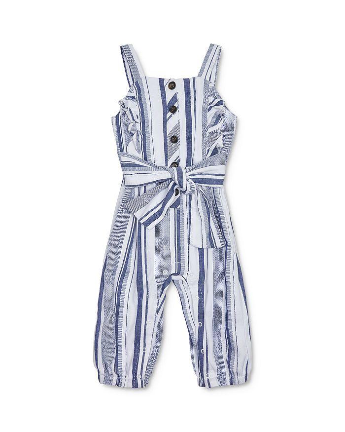 Habitual Kids - Girls' Palmer Striped Jumpsuit - Baby