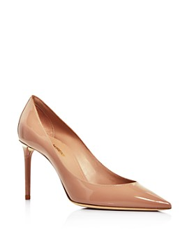 Saint Laurent - Women's Zoe 85 Pointed-Toe Pumps