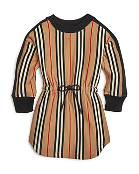 Burberry - Girls' Arielle Icon-Stripe Knit Dress - Little Kid, Big Kid