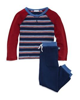 Splendid - Boys' Striped Tee & Jogger Pants Set - Little Kid