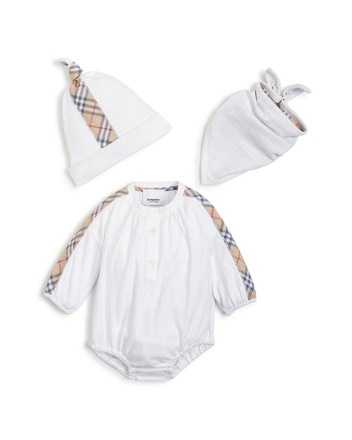 Burberry - Unisex Berta Three-Piece Gift Set - Baby