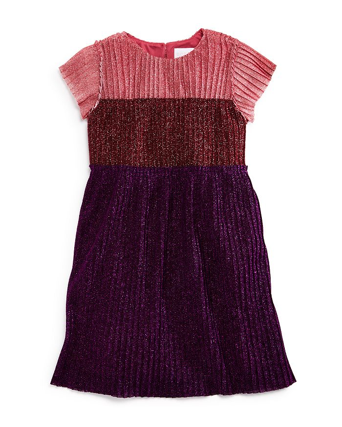 BCBGirls - Girls' Color-Block Sparkle Dress - Little Kid