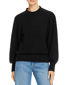 FRENCH CONNECTION - Flossy Puff-Sleeve Sweater