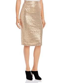 Donna Karan - Sequined Midi Skirt