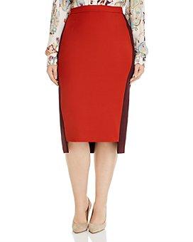 Marina Rinaldi - Corallo Pencil Skirt