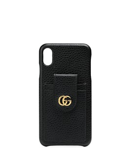 Gucci - GG Marmont Leather iPhone XS Cover