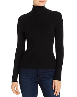 525 - Ribbed Turtleneck Sweater