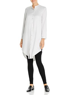 Eileen Fisher - Button-Down Tunic Top