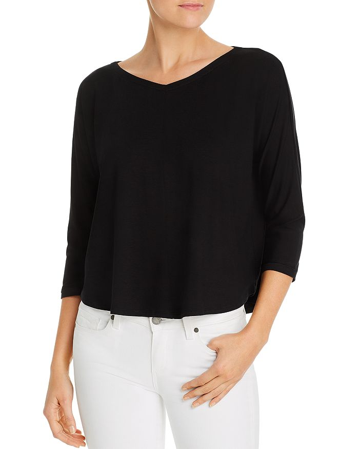 Eileen Fisher - V-Neck Top