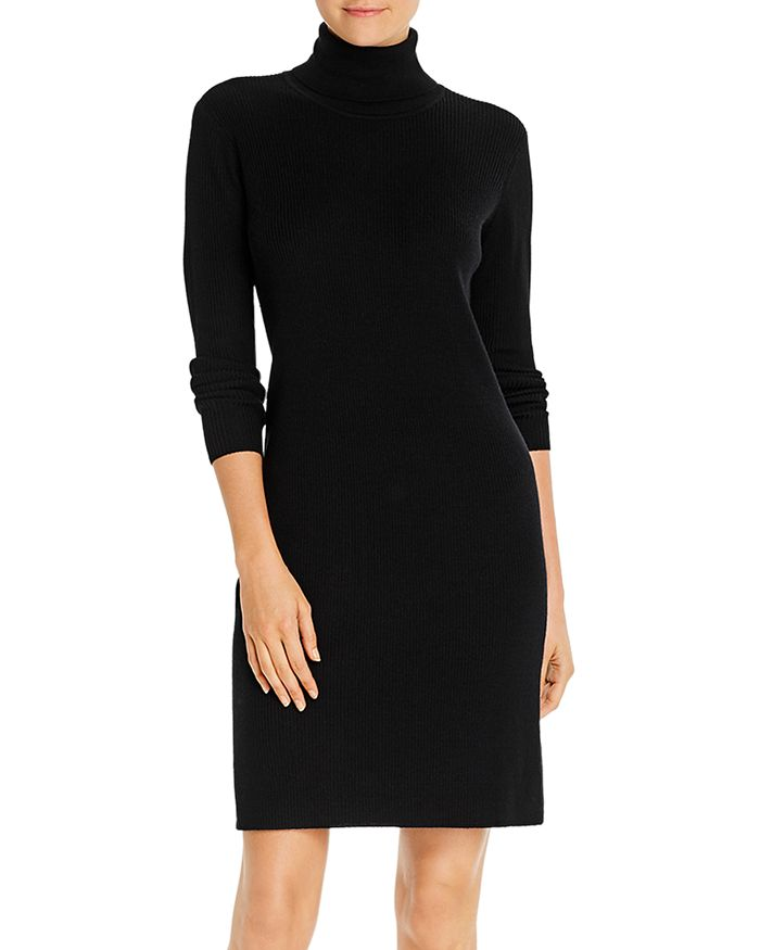 Eileen Fisher - Turtleneck Sweater Dress - 100% Exclusive