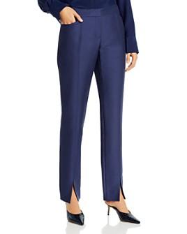 Lafayette 148 New York - Waldorf Slim Slit-Front Pants