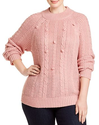 Single Thread Plus - Popcorn-Stitch Sweater