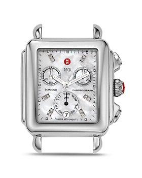 MICHELE - Deco Day Diamond Watch Head, 33 x 46mm