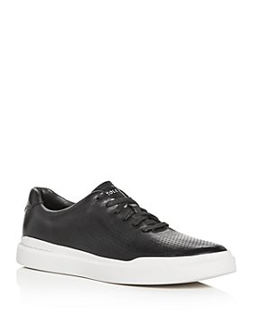 Cole Haan - Men's GrandPro Rally Laser-Cut Leather Low-Top Sneakers