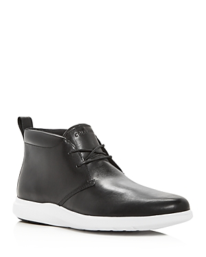 Cole Haan Men\\\'s Grand Plus Essex Leather Chukka Boots (Clearance)