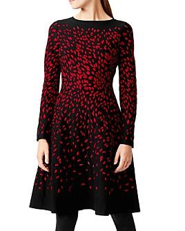 HOBBS LONDON - Jodie Jacquard A-Line Dress