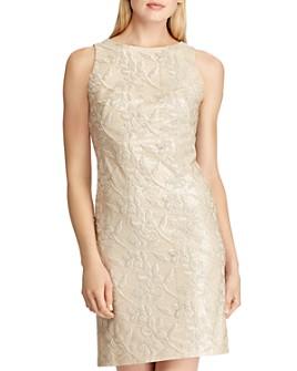 Ralph Lauren - Embroidered Sequin Dress