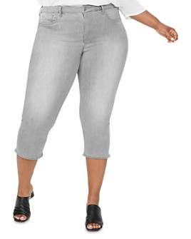 NYDJ Plus - Capri Jeans in Gale